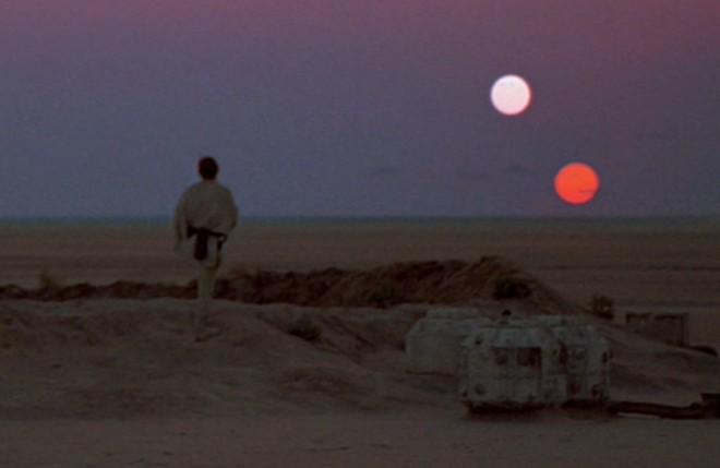 The Binary Sunset