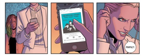 WicDiv_Luci listens to the Stones