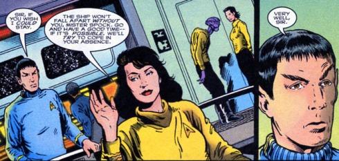 Star Trek artwork by Patrick Zircher