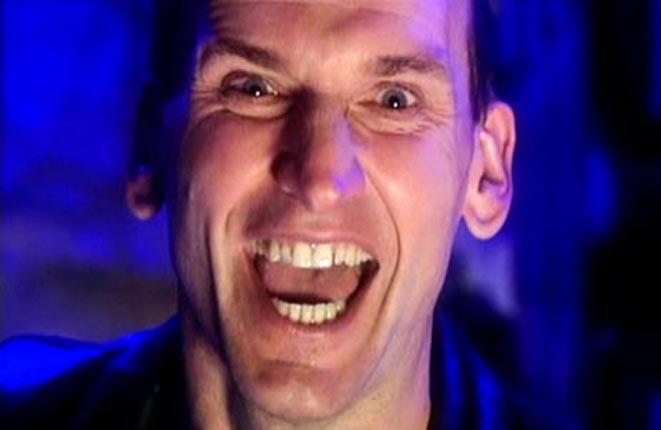 Ninth Doctor_cheering