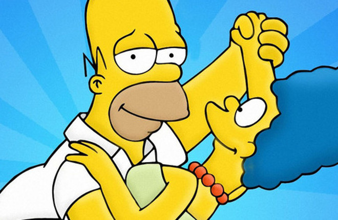 The Simpsons_Homer_Marge