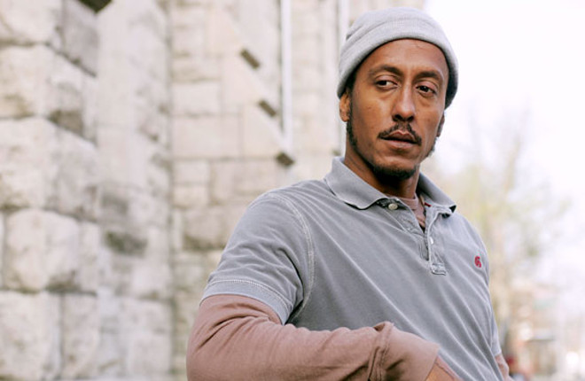 Andre Royo as Bubbles in The Wire, created by David Simon and distributed by HBO.