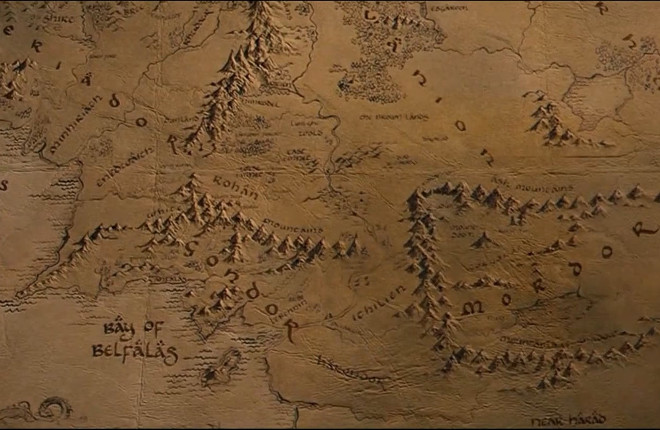 Middle-Earth Map