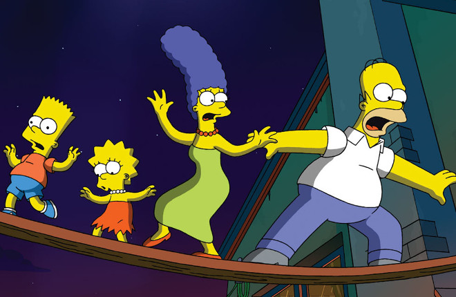 The Simpsons Movie promo image